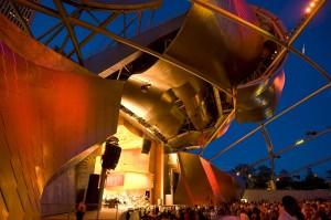 grantparkmusicfestivalpritzkerpavilionredview