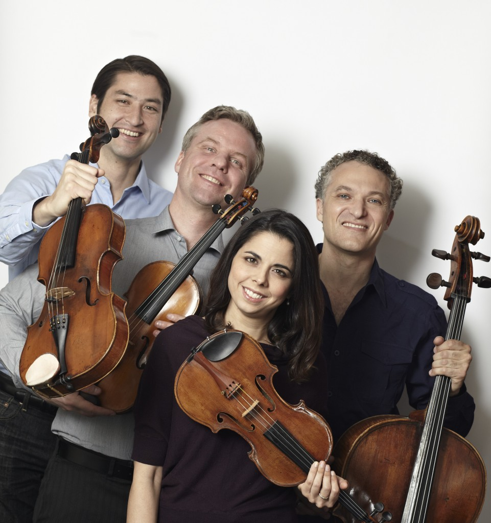 Pacifica Quartet: Masumi Per Rostad, Sibbi Bernhardsson, Simin Ganatra, Brandon Vamos