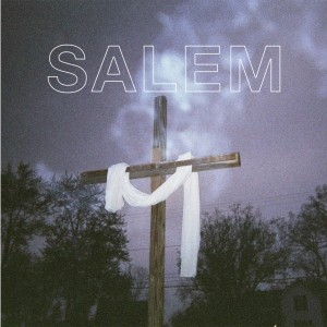 King Night album cover, showing cross with cloth draped across it