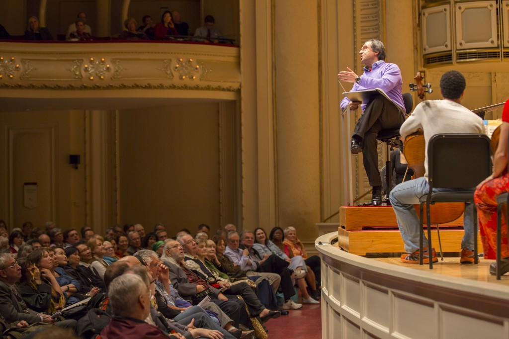 Civic Orchestra open rehearsal/Photo: Todd Rosenberg