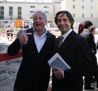 Andrew Patner and Riccardo Muti