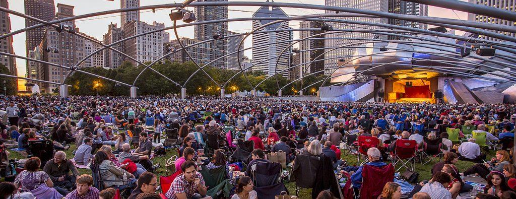Concert for Chicago 2014. / Photo: Todd Rosenberg
